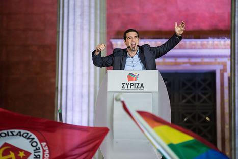 Après la victoire de Syriza, l'espoir renaît pour les artistes grecs   Blanc grec   Scoop.it