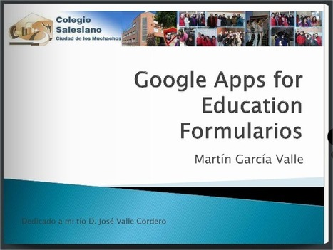 En la nube TIC: Google Apps para Educación en mi aula | TIC para la Educación | Scoop.it