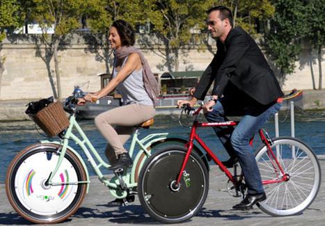 Roolin' Smart : une roue connectée pour transformer sa bicyclette en vélo électrique   ON-ZeGreen   Scoop.it