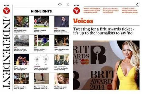 The Independent launches hybrid 'digital newspaper' app for a unique reading experience | Public Relations & Social Media Insight | Scoop.it