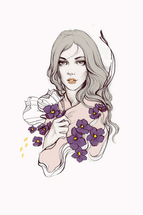 2012 Illustrations by Soleil Ignacio | InspireFirst | #Design | Scoop.it