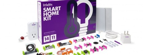 LittleBits Introduces Internet of Things Enabled Smart Home Kit | Gadgetism | Scoop.it