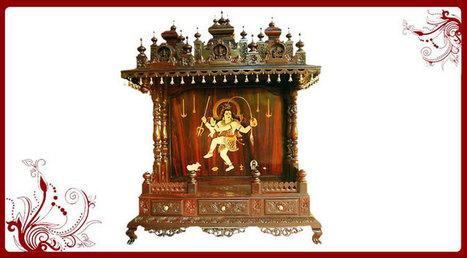 Wood Temple for Home | Pooja Mandir Models | Puja Mandir, Wood Temple, Home Temple-Poojamandir.com | Scoop.it