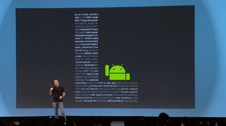 Android L: 5 cool new things we didn't hear about at Google I/O | Android | Geek.com | LibertyE Global Renaissance | Scoop.it