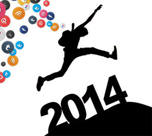 Social Media Resolutions: 4 Steps to Succeed in 2014 | How to Social Media 101 | Scoop.it
