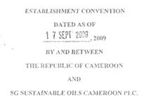 farmlandgrab.org | Convention between Republic of Cameroon and SGSOC | Daraja.net | Scoop.it