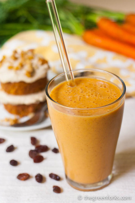 #HEALTHYRECIPE - Carrot Cake Smoothie   Healthy Recipes and Tips for Healthy Living   Scoop.it