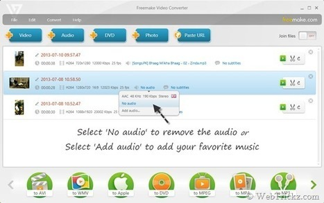How to Replace Audio & Remove Audio from a Video | Techy Stuff | Scoop.it