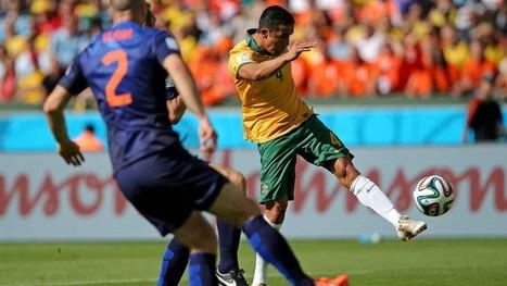 Tim Cahill (Australia 1:1 Netherlands) | piala dunia 2014 Australia | Scoop.it