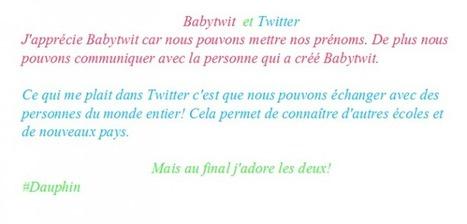 Elémentaire P. Brossolette - Tomblaine - Textes sur Twitter et Babytwit | Les TIC au primaire: une intégration réussie | Scoop.it