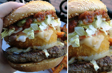 Dirty Sanchez Baja Burger | Foodbeast | #yummyinmytummy | Scoop.it