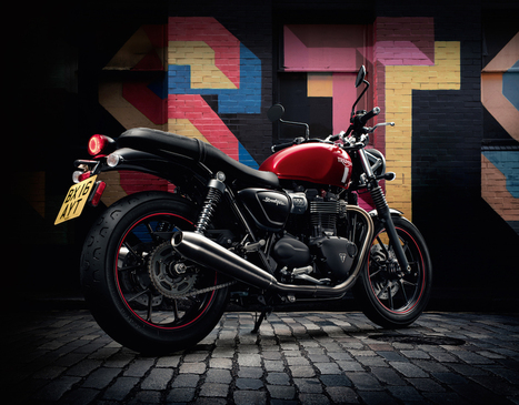 The new TriumphStreetTwin: Built for fun. Built to ride. Built to make your own. | Motorcycle Industry News | Scoop.it