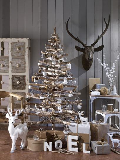 8 idées pour un sapin de Noël contemporain   Décoration maison intérieure et extérieure   Scoop.it