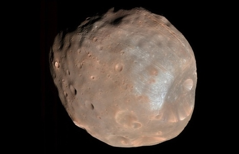 Martian moon set to be torn apart and form ring around red planet | Amazing Science | Scoop.it