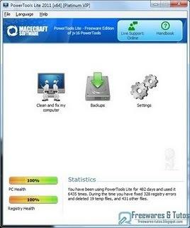 PowerTools Lite 2011 : un logiciel gratuit pour nettoyer votre ordinateur | Technologie Au Quotidien | Scoop.it