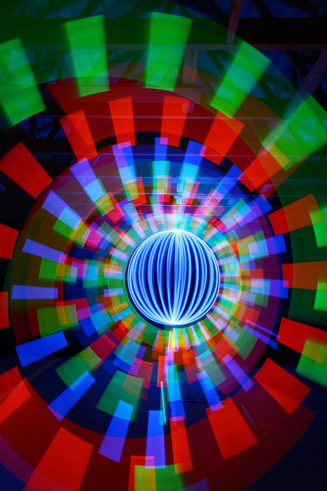 Colorful Light Art Created Using No Digital Manipulation - My Modern Metropolis | MyEdu&PLN | Scoop.it