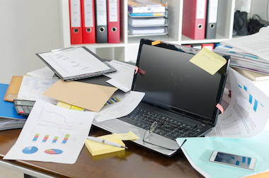 Do you need to declutter your desk? | Learning At Work | Scoop.it