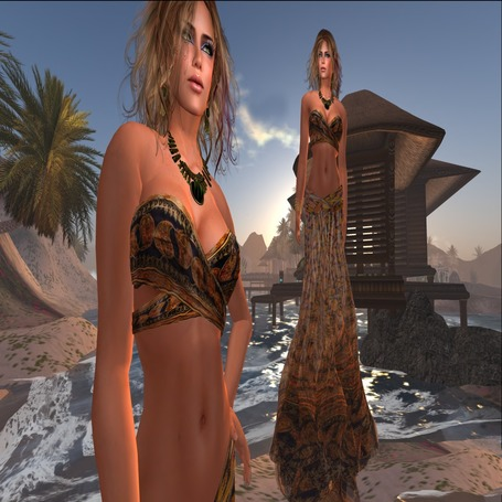 Far Far Away Two Pieces Dress by Paris METRO Couture | Teleport Hub | Second Life Freebies | Scoop.it