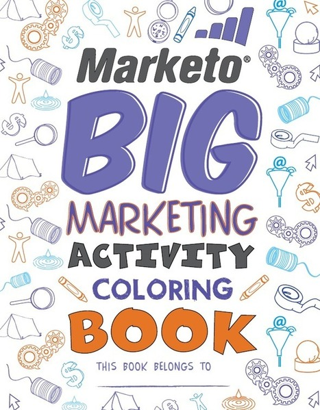 The Big Marketing Activity Coloring Book--Fun For All | Learning English | Scoop.it