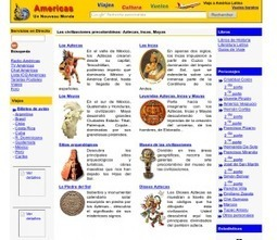 Recursos TIC para estudiar las culturas Incas, Mayas y Aztecas | Enseñar Geografía e Historia en Secundaria | Scoop.it
