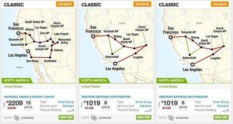 Pacchetti Avventura West Coast in offerta   Viaggi-USA. Resoconti dal Nuovo Mondo   Scoop.it