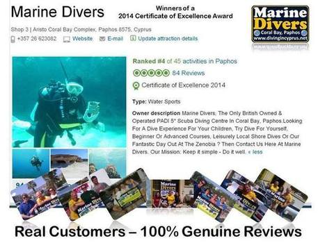 Marine Divers - Timeline Photos | Facebook | Cyprus Scuba Diving - Paphos & Zenobia | Scoop.it