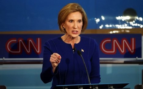 Carly Fiorina Slays Sexist Trump Onstage | enjoy yourself | Scoop.it