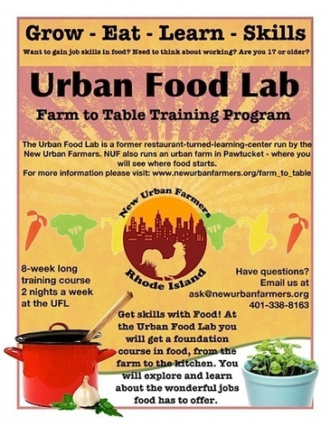 New Urban Farmers launch Urban Food Lab in Rhode Island — City ... | Vertical Farm - Food Factory | Scoop.it