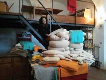 #GreenPeople Silvia Bertolucci racconta come nascono i cuscini di @Ecoartigianato | Ecoartigianato | Scoop.it