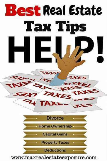Best Tax Tips For Real Estate | Real Estate Articles Worth Reading | Scoop.it