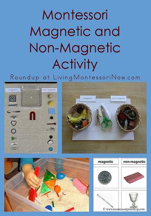 Montessori Monday – Montessori Magnetic and Non-Magnetic Activity | Montessori Inspired | Scoop.it