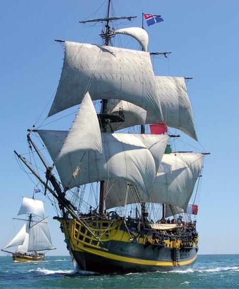 L'Étoile du Roy, la frégate corsaire de l'Armada   Bateaux et Histoire   Scoop.it