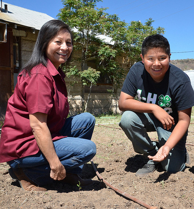 Apache Youth Grows Food for His Community | USDA Blog | CALS in the News | Scoop.it