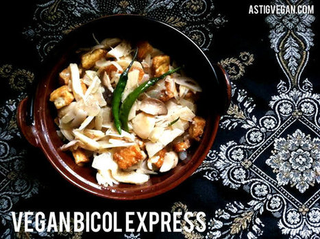 Vegan Bicol Express Recipe | My Vegan recipes | Scoop.it