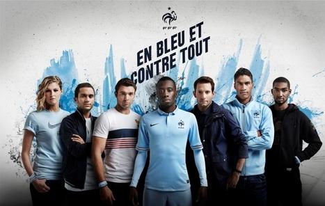 Nike apporte son soutien En Bleu et contre Tout! - Le Marketing Sportif | Digisportive | Scoop.it