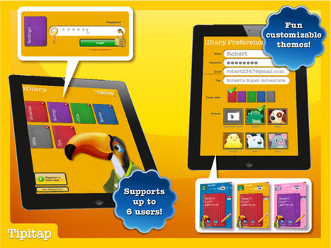 iDiary for Kids - App Store | UDL & ICT in education | Scoop.it