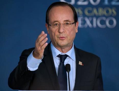 La taxe sur les transactions financières entrera en vigueur en 2013, affirme Hollande   LYFtv - Lyon   Scoop.it