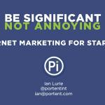 Internet marketing for startups: The presentation   Internet Marketing & Startups   Scoop.it