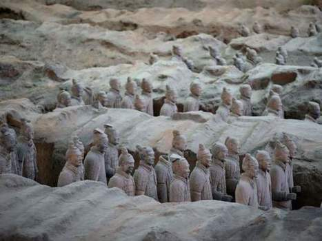 Greeks travelled to China 1,500 years before Marco Polo and may have built Terracotta Army: researchers | omnia mea mecum fero | Scoop.it
