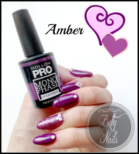 Betty Nails: Mollon Pro Monophase 24 Amber & Nailart | Betty Nails | Scoop.it