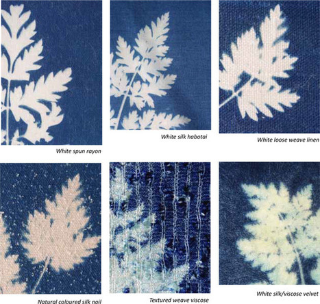 Cyanotypes on fabric – preparing the fabric | L'actualité de l'argentique | Scoop.it
