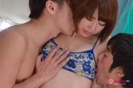 Seira Matsuoka Playing With Toys and Getting Cum Filled In MMF Video | pussyavblog | Scoop.it