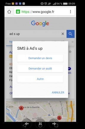 Nouvelle extension AdWords: CTM (Click To Message) | Services mobiles et SMS | Scoop.it