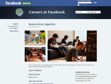Facebook ofrece cuatro puestos de trabajo | miltrabajos | Scoop.it