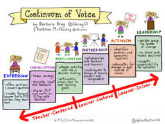 Personalize Learning: Continuum of Voice: What it Means for the Learner | Aprender-Enseñar con TIC | Scoop.it