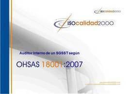 Guía para agrupar en un sólo archivo los puntos 4.4.6. y 4.5.1. de OHSAS | Infraestructura Sostenible | Scoop.it