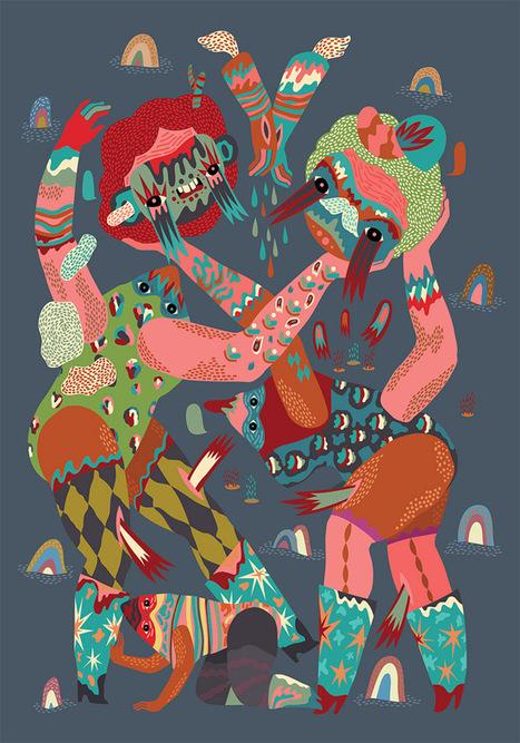 Irena Zablotska | Illustrator | les Artistes du Web | Scoop.it