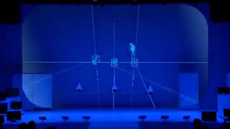 ARTS NUMÉRIQUES: Eleven Play dance performance with drones at Spiral Hall - YouTube | Lumières - Éclairages - Lights - Light Art - Lighting Design | Scoop.it
