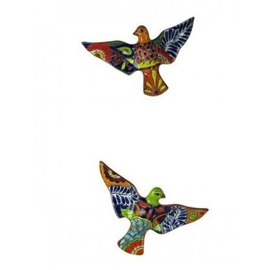 Talavera Flying Dove Pair Wall Hanging | Talavera Flying Dove Pair Wall Hanging | Scoop.it
