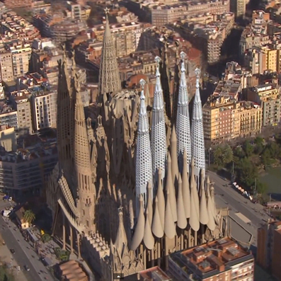 One-minute 3D animation shows final phases of Gaudí's Sagrada Família | 3d | Scoop.it